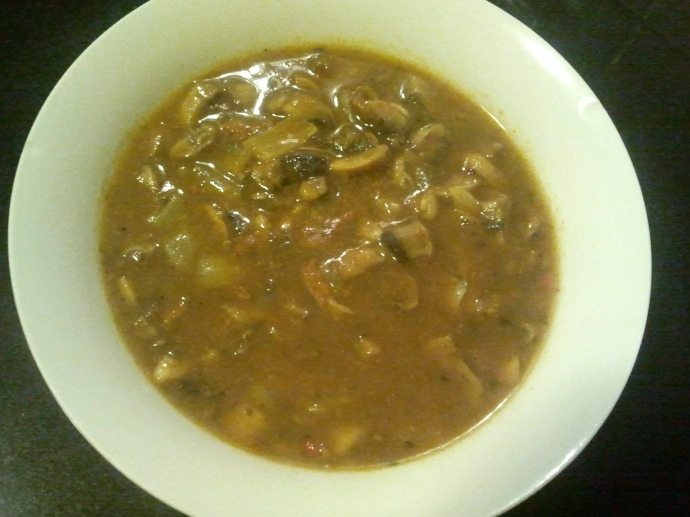 Gombaleves (Hungarian Mushroom Soup)