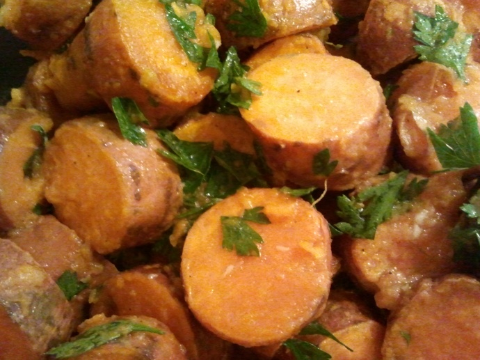 Cuban-Style Roasted Sweet Potatoes