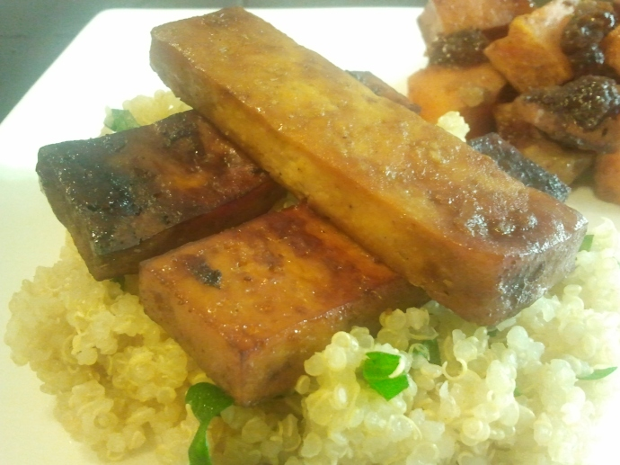 Orange Baked Tofu