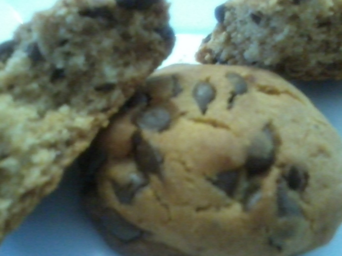 Orange Agave Chocolate Chip Cookies