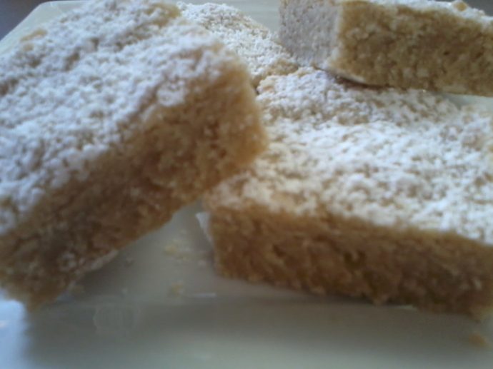 Coconut Shortbread with Cardamom