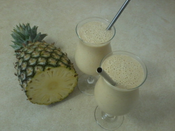 Pine-Lime Smoothie